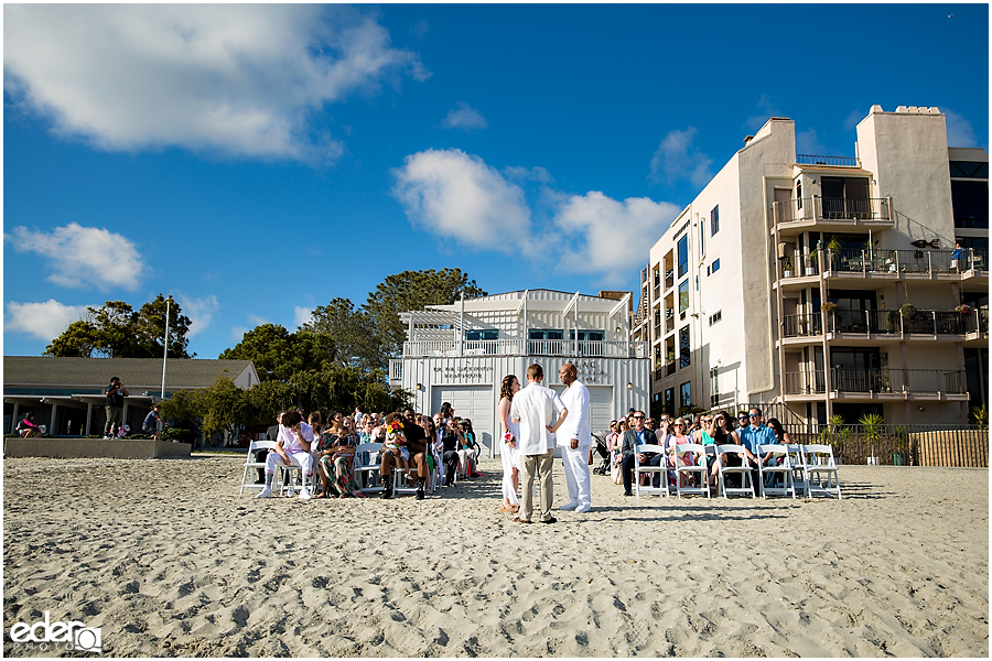 ZLAC Rowing Club Wedding Ceremony building photo