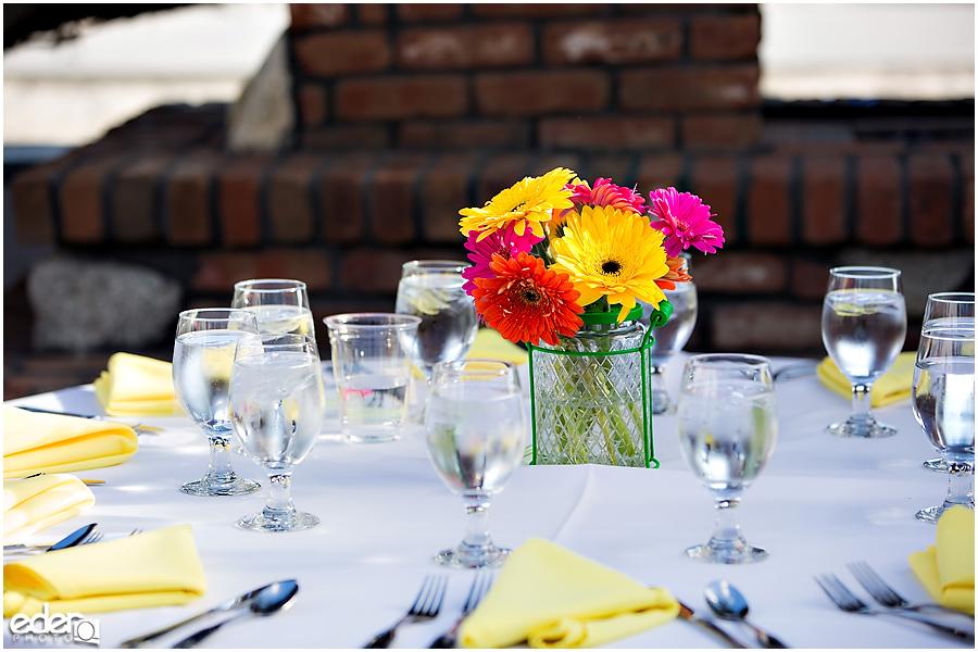 ZLAC Rowing Club Wedding Reception details