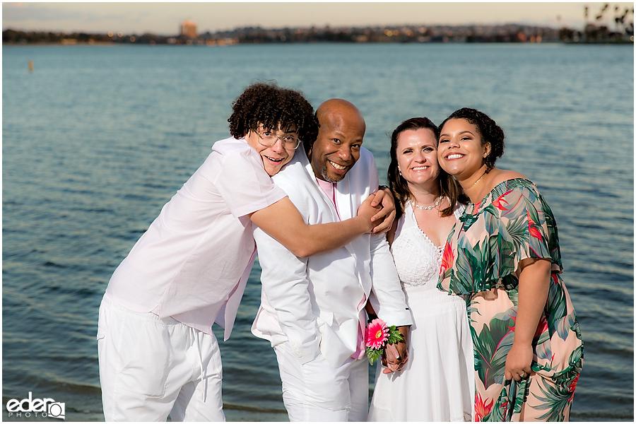 ZLAC Rowing Club Wedding family portraits