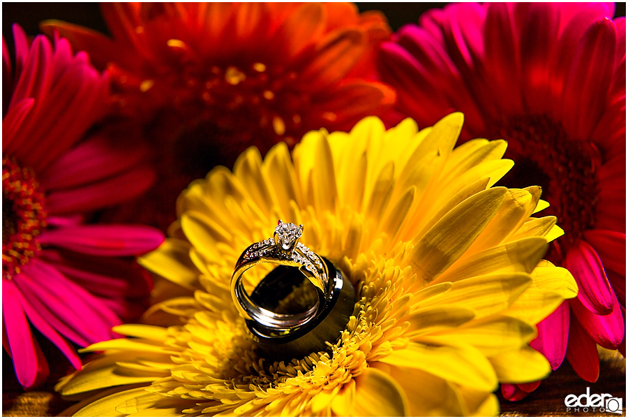 ZLAC Rowing Club Wedding ring photo.
