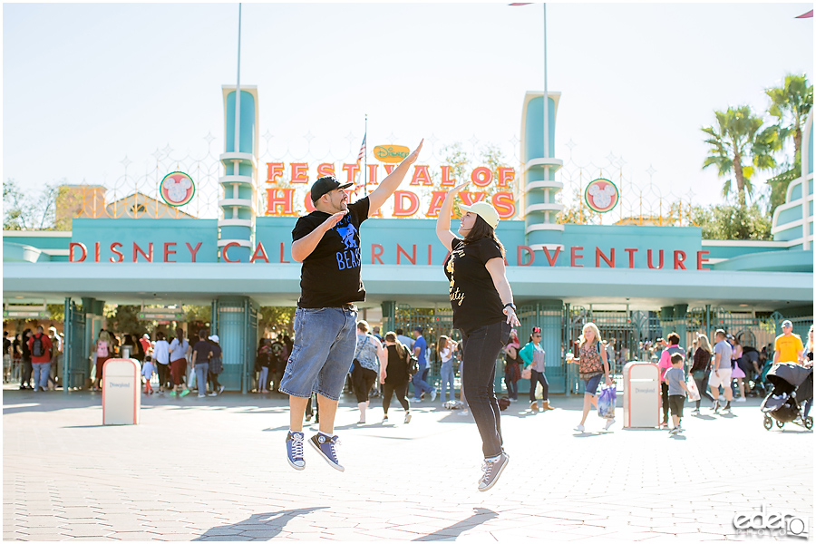 California Adventure Engagement Session