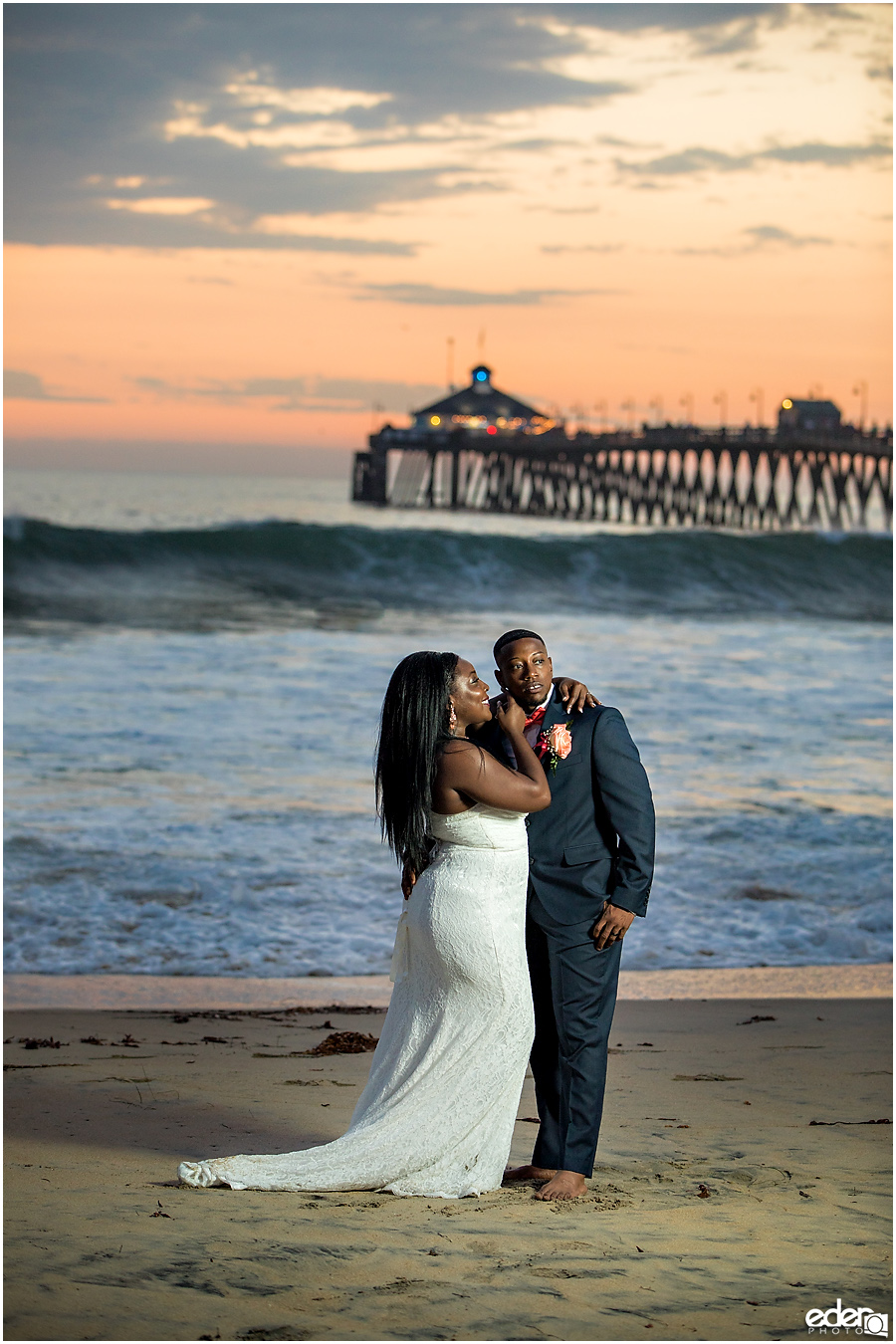 Imperial Beach wedding portraits