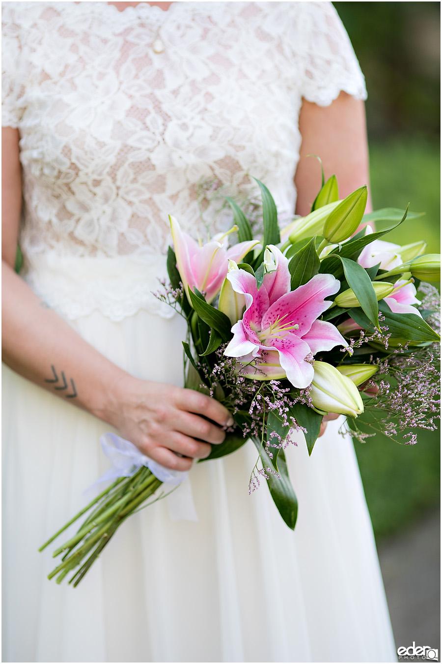 San Diego Elopement bouquet