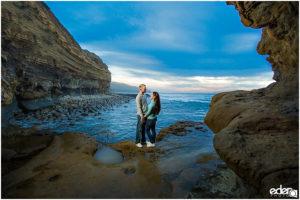 Sunset Cliffs Engagement Session – San Diego, CA