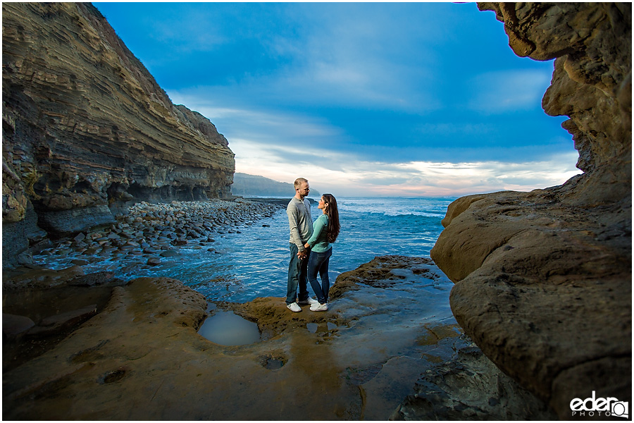 Sunset Cliffs Engagement Session – San Diego, CA