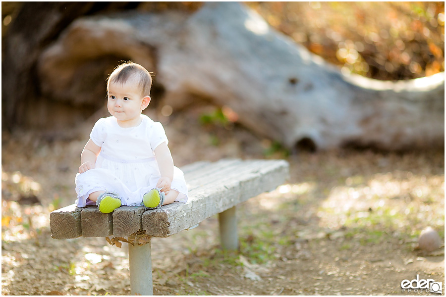 Spring Mini Portrait Session - baby photo.